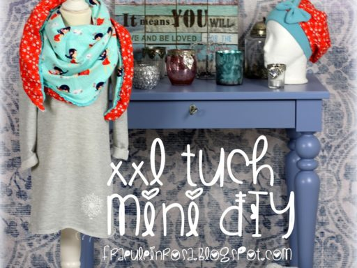 Mini DIY XXL Tuch